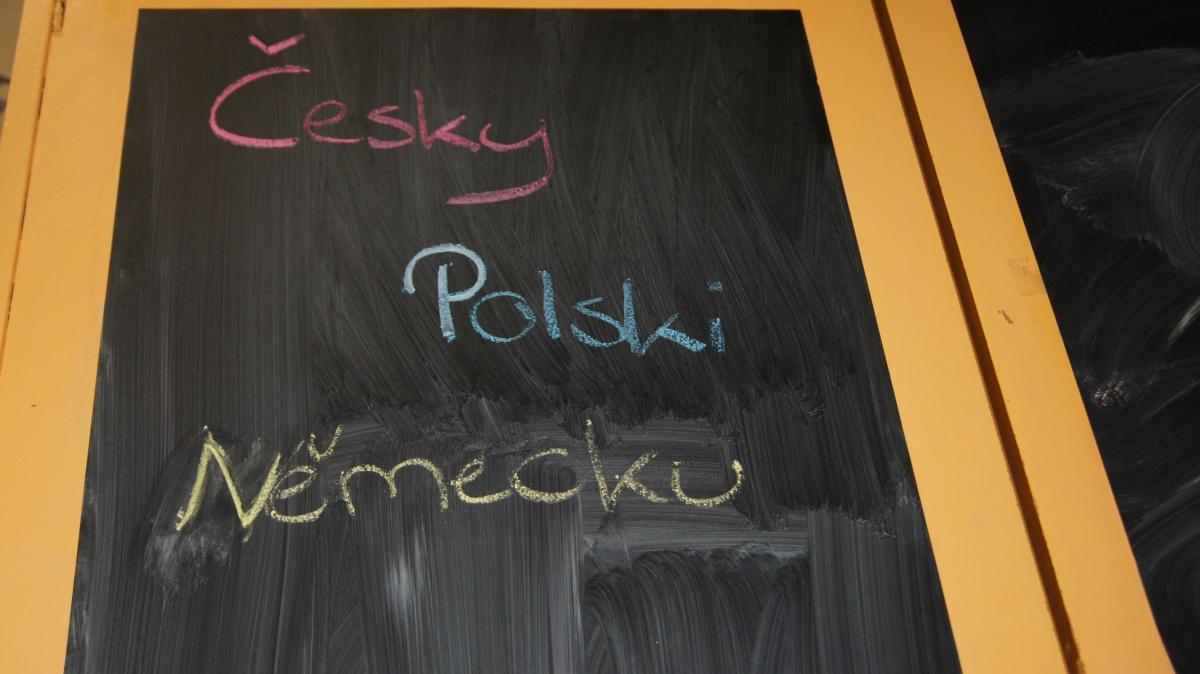 Tafel Polnisch Tschechisch Deutsch