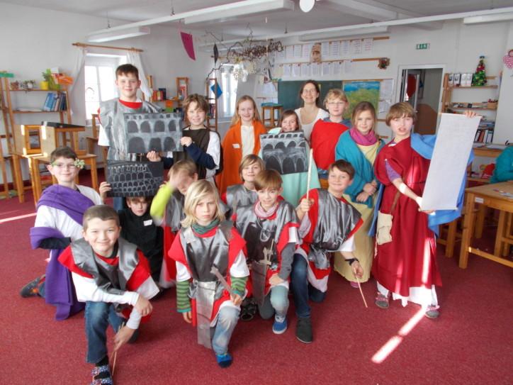 Kleider machen Römer